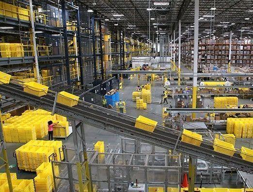 Almacén de Amazon FBA