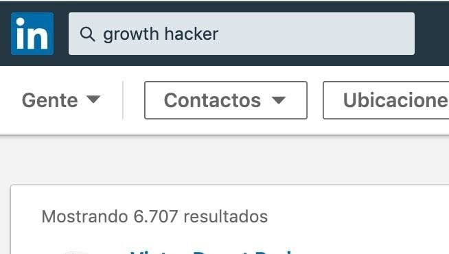 Growth Hacking en Linkedin