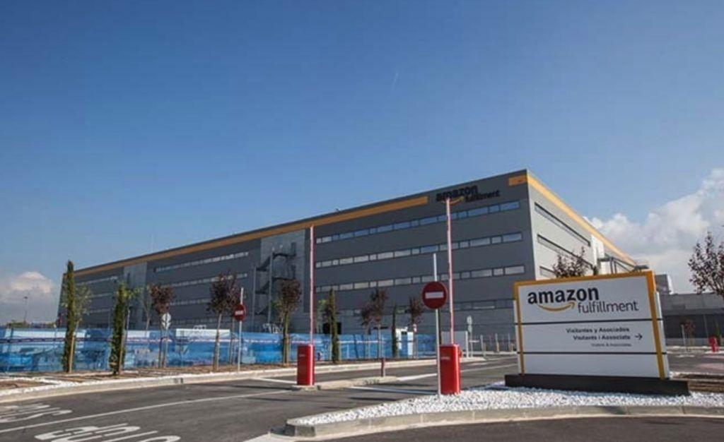 Almacén Amazon BCN1 El Prat de Llobregat