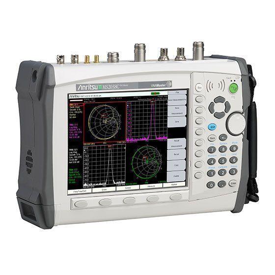 Analizador vectorial, podemos observar las diferencias con el analizador de espectro