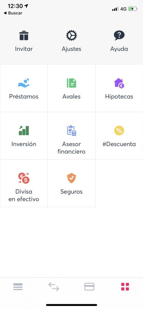 Vista del Marketplace de Bnext