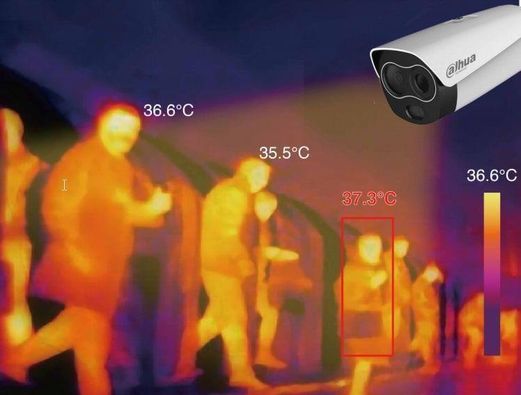 Solución COVID19 con cámaras térmicas Dahua
