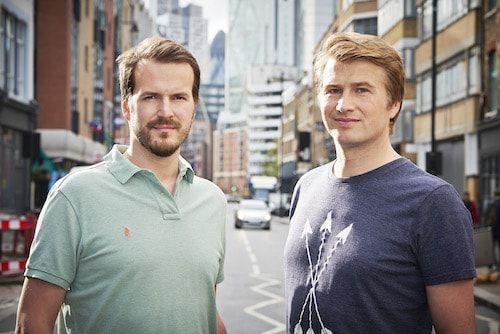 Taavet y Kristo, fundadores de Transferwise
