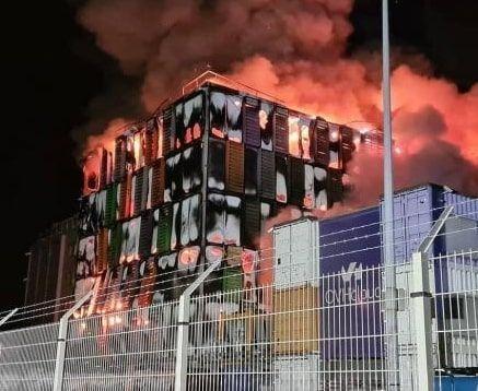 Incendio de OVH en Marzo 2021