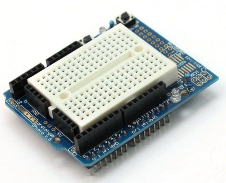 Protoboard Shield para Arduino