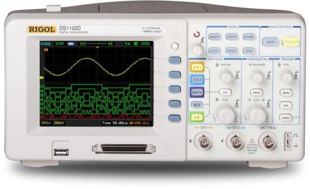 Osciloscopio Rigol 1000