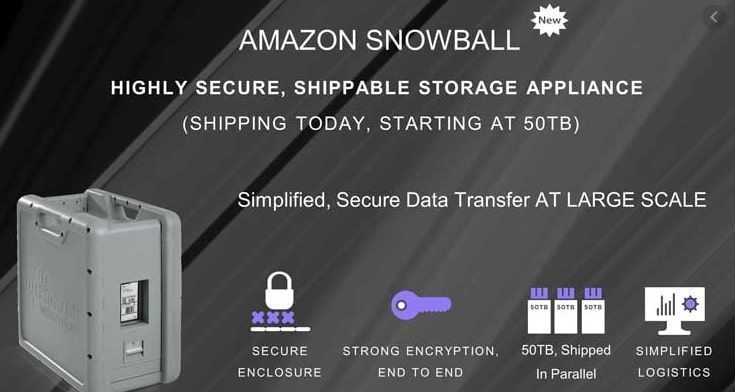 Amazon Snowball