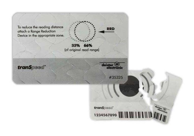 Transponder RFID pasivo para coche de Deister