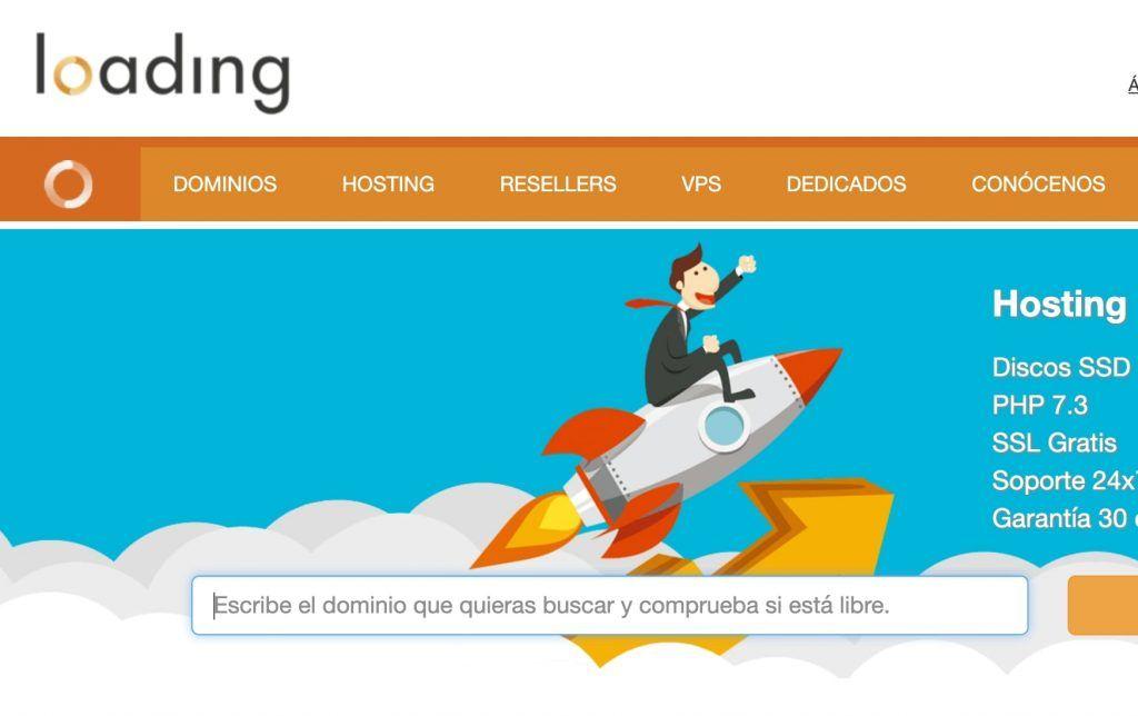 loading hosting