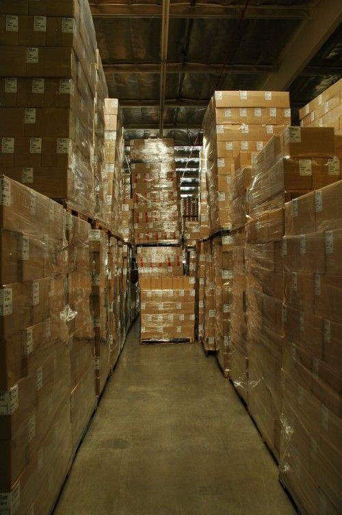 Almacenaje de productos ecommerce